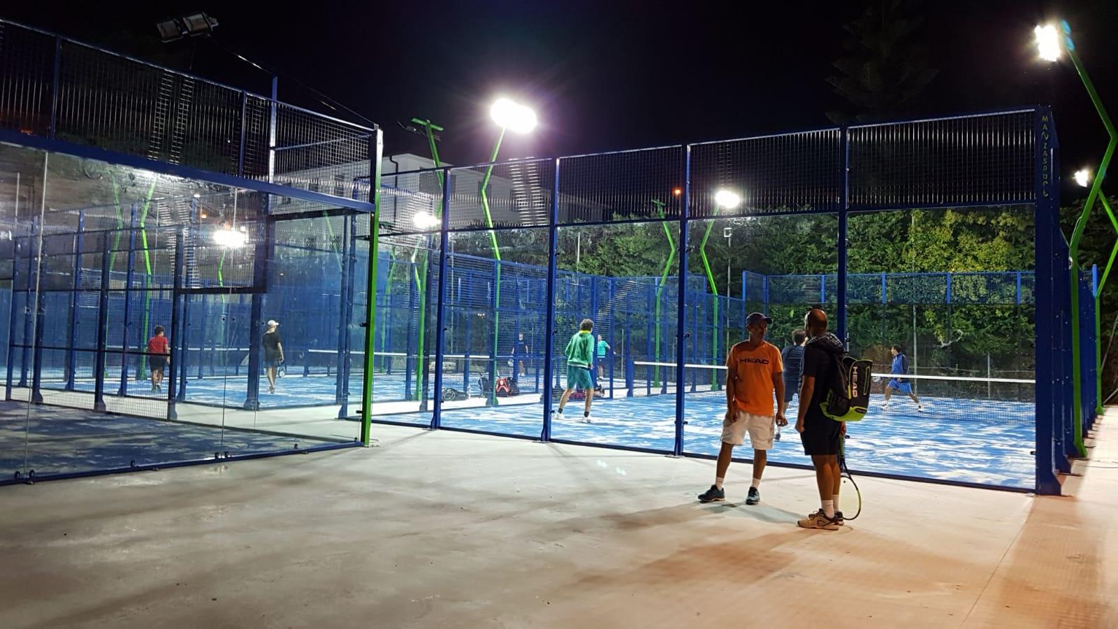 tennis padel academy sanremo